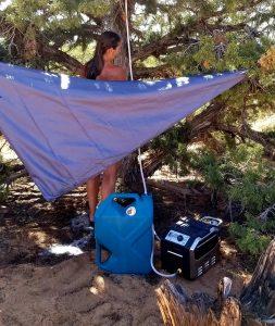 Basecamp Boss Instant Water Heater, Vanlife Shower, Portable Shower