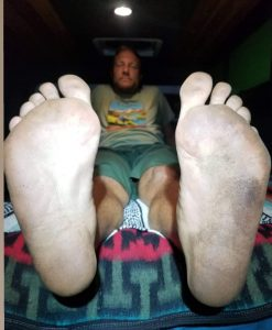 dirty feet, worst things about vanlife