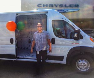 The day we bought our new van, How to Choose a Van