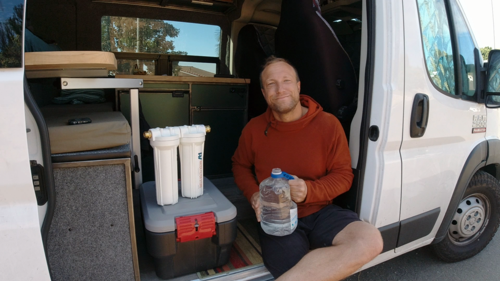 water filter for vanlife